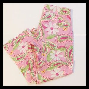 Lilly Pulitzer Floral Pants